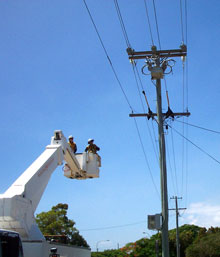 NOJA Power OSM Recloser installed as part of the ENERGEX five-year network upgrade program