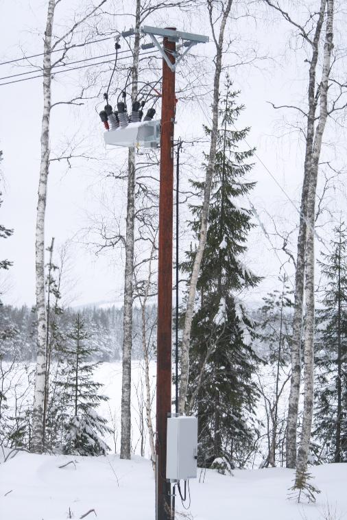 Los Reconectadores de NOJA Power trabajan en temperaturas bajo cero - Suecia