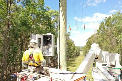 Primer RC20 en servicio de NOJA Power montado en poste
