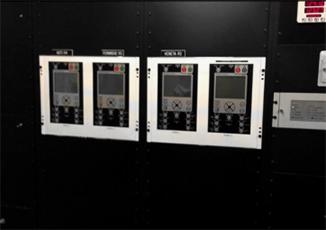Instalación remota del panel HMI de NOJA Power. Un controlador por reconectador