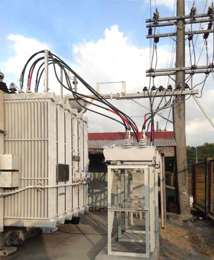 NAPOCOR NOJA Power instalación de reconectadores en subestaciones en el Luzon, Philippines