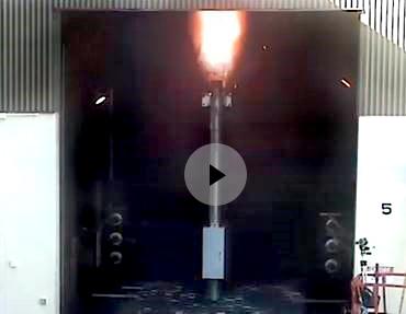 El diseño de falla de arco patentado por NOJA Power previene a los operadores de fallas de arco catastróficas
