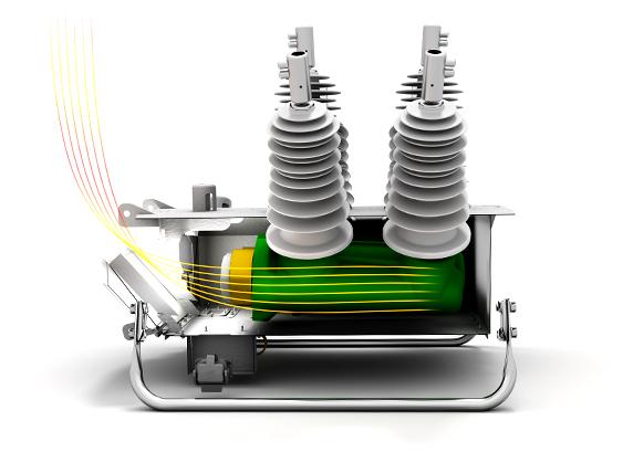 El diseño de falla de arco patentado por NOJA Power previene a los operadores de fallas de arco catastróficas.
