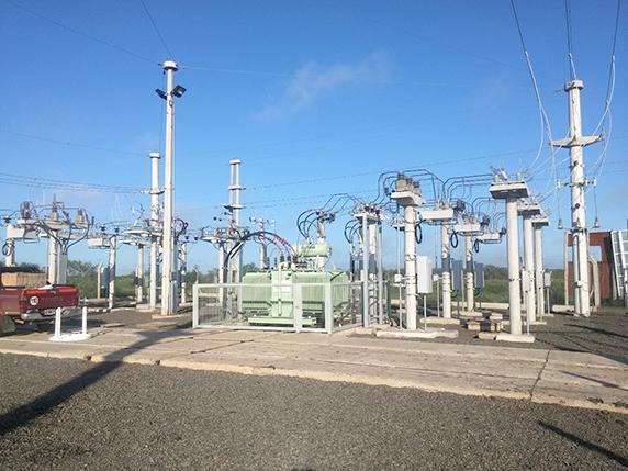 Figura 3 - Reconectadores OSM NOJA Power utilizados en una subestación argentina