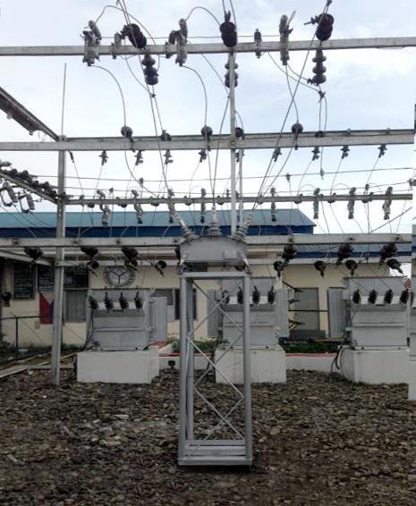 NAPOCOR NOJA Power instalación de reconectadores en subestaciones en el Norte de Mindanao, Pilipinas