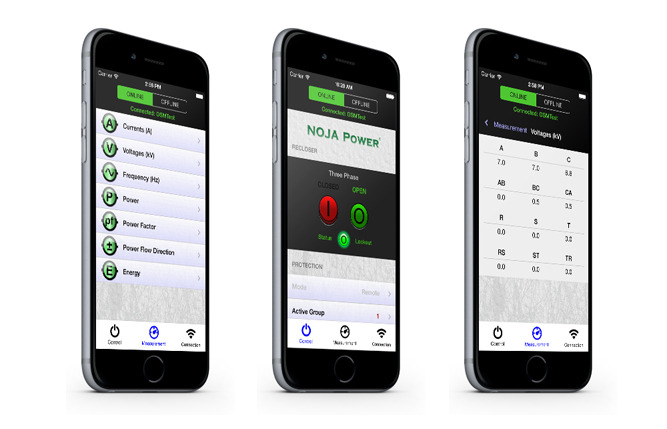 La App del Reconectador NOJA Power