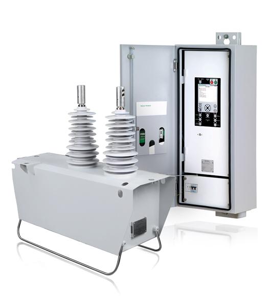 Reconectador automático monofásico NOJA Power con cubículo de control y comunicaciones RC10