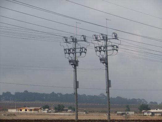 Reconectadores OSM de NOJA Power instalados en condiciones ambientales adversas