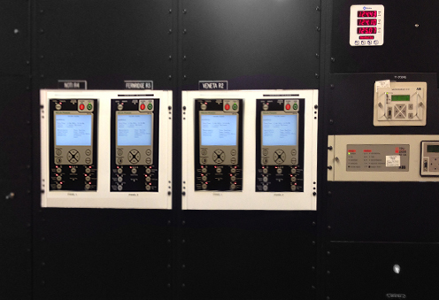Paneles HMI de los controladores RC de NOJA Power